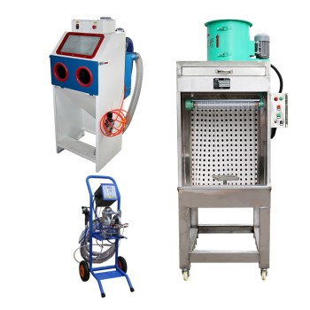 Electrostatic Liquid Painting Spray Gun Systems