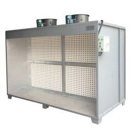COLO-S-TP2000 Cardboard Filter Paint Spray Booth