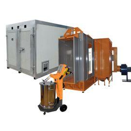 Semi Auto Cabinas y Hornos Pintura Electrostatica