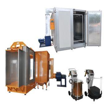 Semiauto Powder Coating Equipment kits