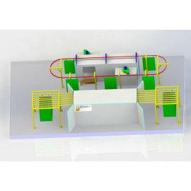 Manual Electrostatic Powder coating Plant