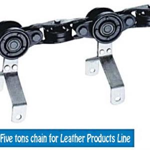 Pulverbeschichtungsanlage 5 Tonnen Lederkette Förderketten