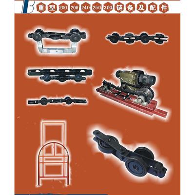Průmyslový ocelový řetěz
