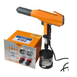Test equipo de pintura electrostatica 800D-06c