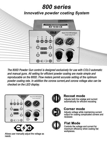 COLO-800D control unit
