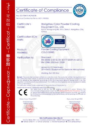 COLO CE Certification