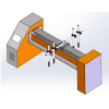 Horizontal Reciprocator of powder Coating