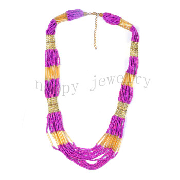 hot sale india beads handmade necklace