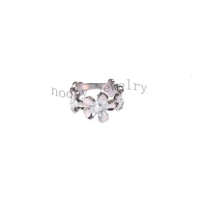 wholesale flower alloy  finger ring