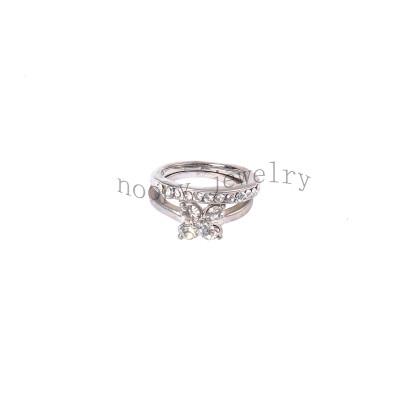 wholesale diamond wedding clover ring