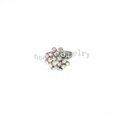 wholesale crystal AB stone finger ring
