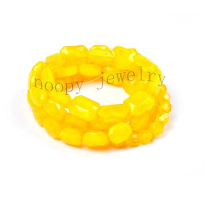 fashion yellow acryl beads juicy couture bracelet
