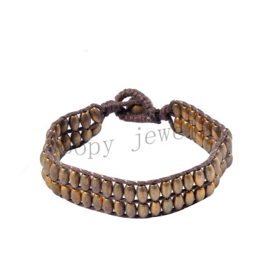 fashion anti gold knited links of london bracelet