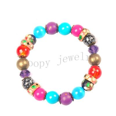 hot sale  cloisonn beads bracelet
