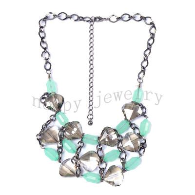 hot sale glass beads handmade necklace