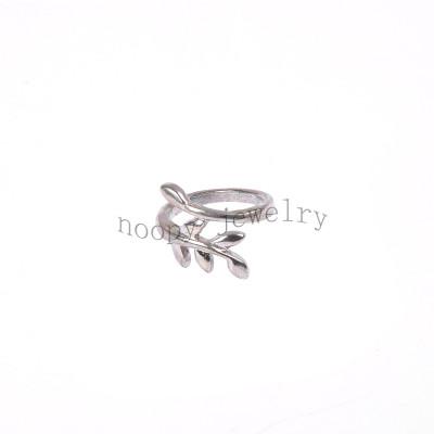 wholesale simple leaf finger ring