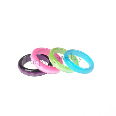 wholesale colorful resin  finger ring