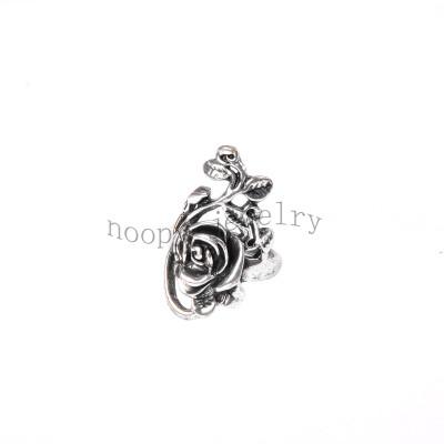 wholesale lovey rose alloy finger ring