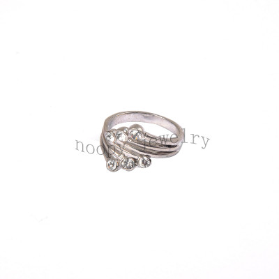 wholesale crystal stone simple finger ring