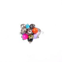 wholesale multi beads vintage finger ring
