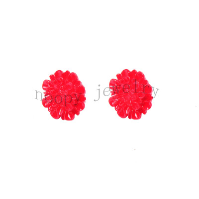 fashion new style acryl flower earring