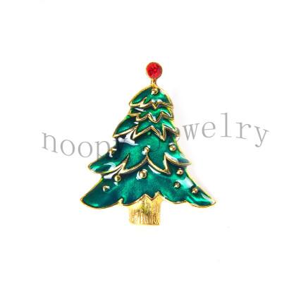 hot sale christmas tree brooch