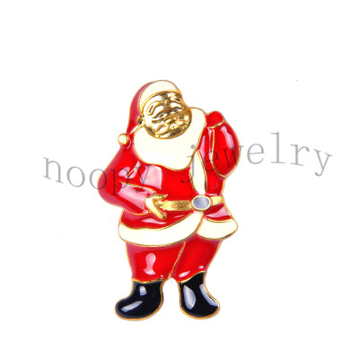 hot sale Santa Claus christmas brooch
