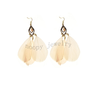 hot sale feather earring