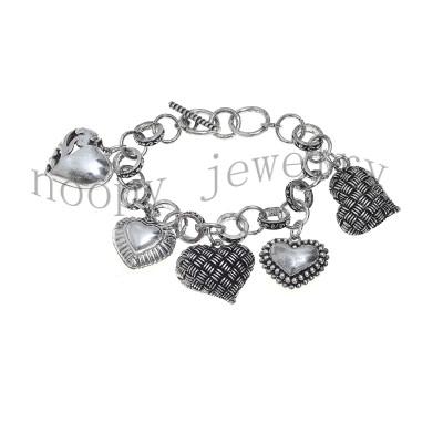 hot sale heart pendant bracelet