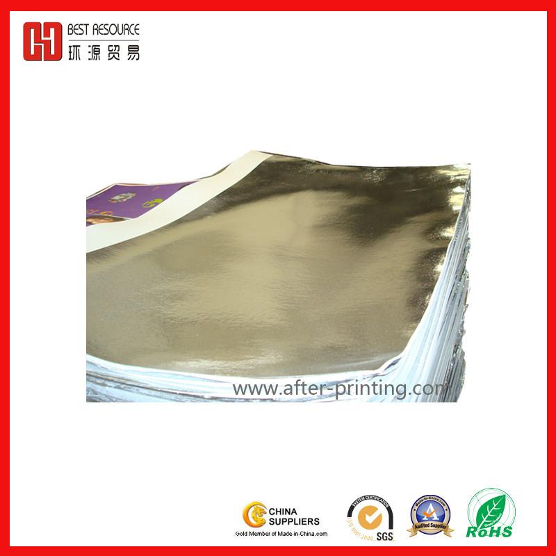 Metalized Thermal Laminating Film-Silver 2