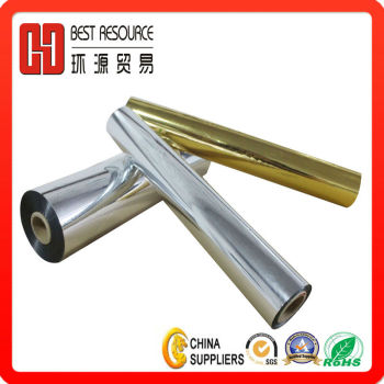 Metalized Thermal Laminating Film Silver 24micron