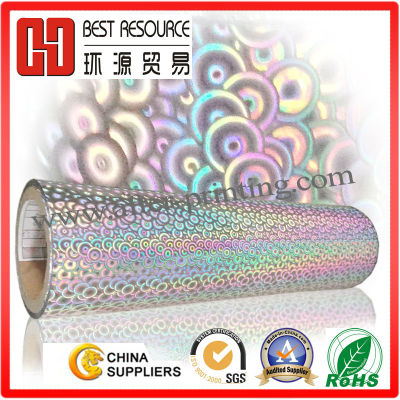 Customized Pattern Silver  Holographic Film