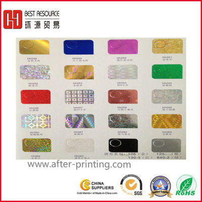 Holographic Hot Stamping Foil for Paper-graphic foil