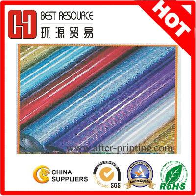 paper core 12micron PET holographic foil 10rolls/carton
