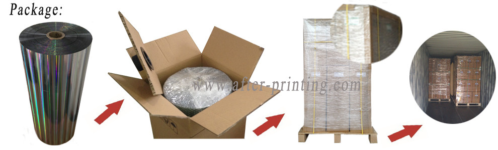 holographic film-packing
