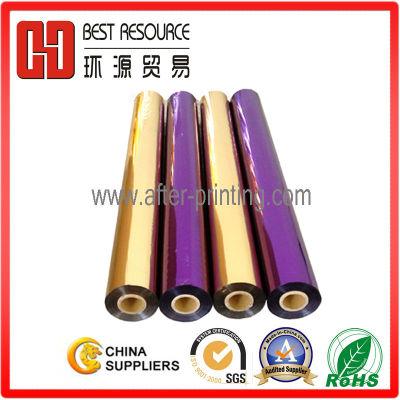Multi Color Hot Foil Stamping for Catalog