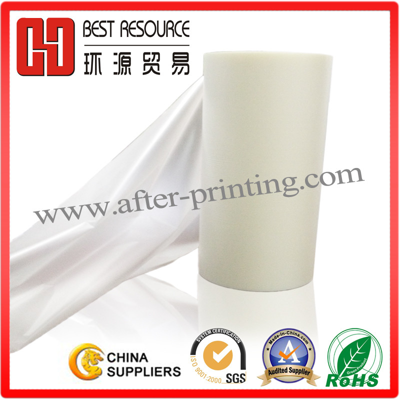 Scratch resistant laminating film