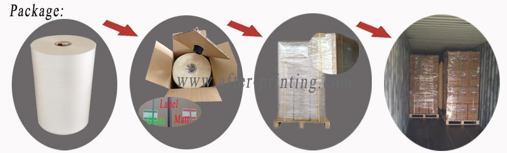 packing details of BOPP Films