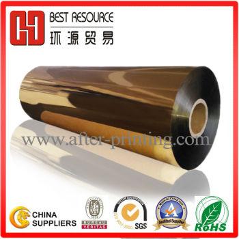 Metallized Gold Thermal Lamination Film 24micron