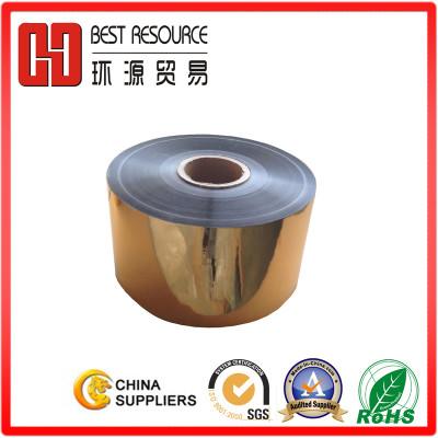 Metalized Aluminum Gold PET Film