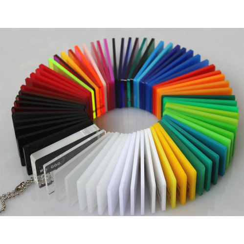 Colored cast acrylic sheet - Colorful Pmma Sheet Color Swatch Smaple Can Be Available