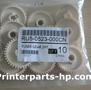 RU5-0523 Pressure Roller Gear 37T For HP 1022 3050