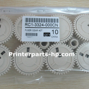 HP RC1-3324-000 Drives Upper Fuser Roller Gear -