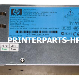 RM2-0545-000CN HP low voltage power supply assy 220-240V