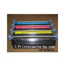 HP C9730A C9731A C9732A 9733A color toner cartridge