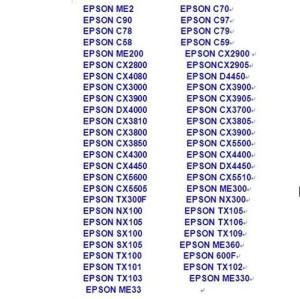 EPSON T13 Printer Head