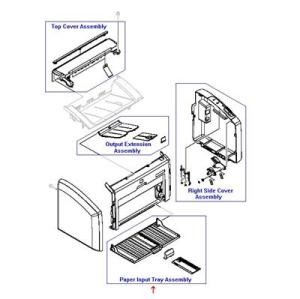 RM1-6901-000CN HP PAPER PICK-UP TRAY ASS'Y