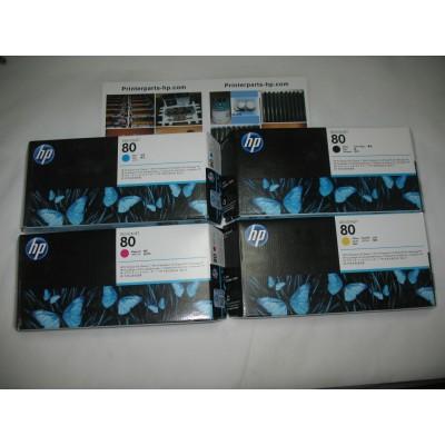 New Original C4820A C4821A C4822A C4823A Print Head Compatible For HP80 Printer head