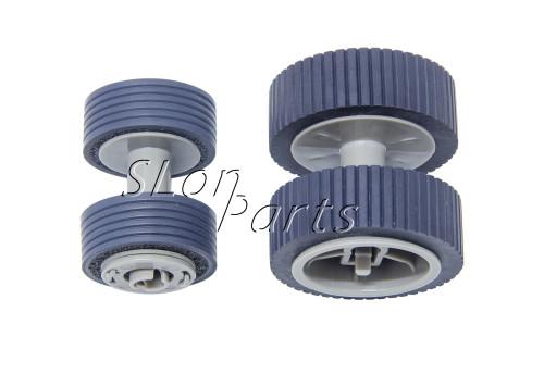 PA03540-0001 PA03540-0002 for Fujitsu 6130 Fi-6130 Fi-6130Z Fi-6230 Fi-6140 Fi-6125 Fi-6225 IX500 Brake and Pick Up Roller