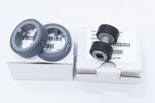 PA03670-0001 PA03670-0002 Fujitsu Fi-7160 Fi-7180 7260 7280 Brake Pick Up Roller